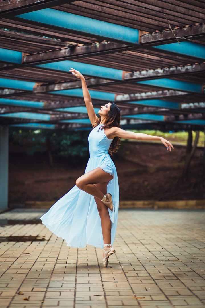 A happy dancer