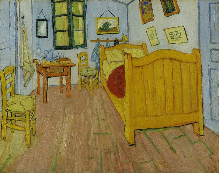 Bedroom in Arles- Van Gogh, the starving artist