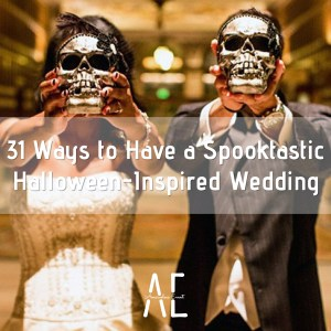 31 Ways to Have a Spooktastic Halloween-Inspired Wedding