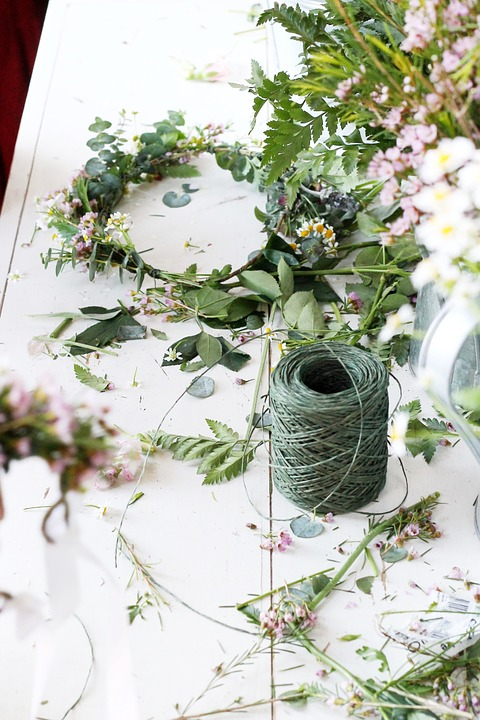 Flower Crown DIY Wedding
