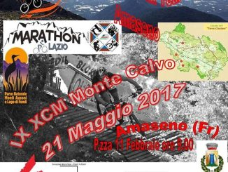 locandina marathon monte calvo