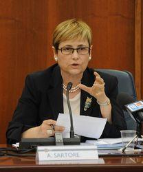 assessore al bilancio Alessandra Sartore