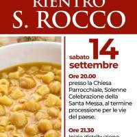 Stasera il suggestivo rientro di San Rocco a Villa Santo Stefano