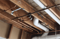 Leak In Ceiling Below Bathroom Shower | Taraba Home Review