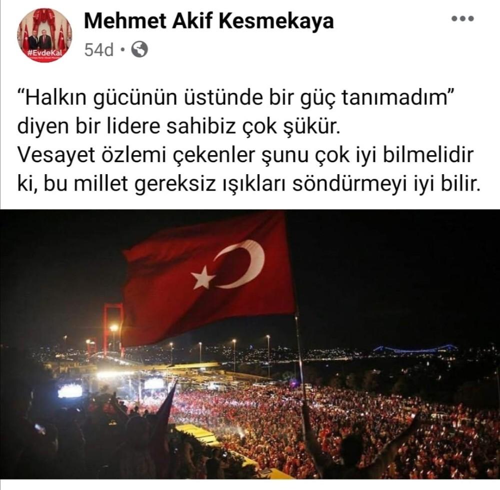 """Amasya'dan """"Işıklar Yanıyor"""" paylaşımına tepki: """"İstifa etmeli"""""""