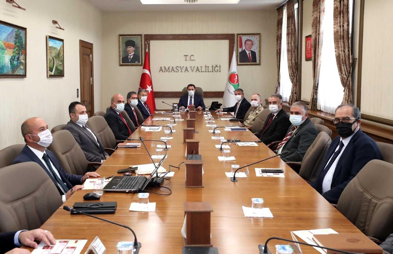 """Vali Masatlı: """"Amasya'mıza yükseköğrenim görmek üzere gelen hiçbir öğrencimiz mağdur edilmeyecek"""""""