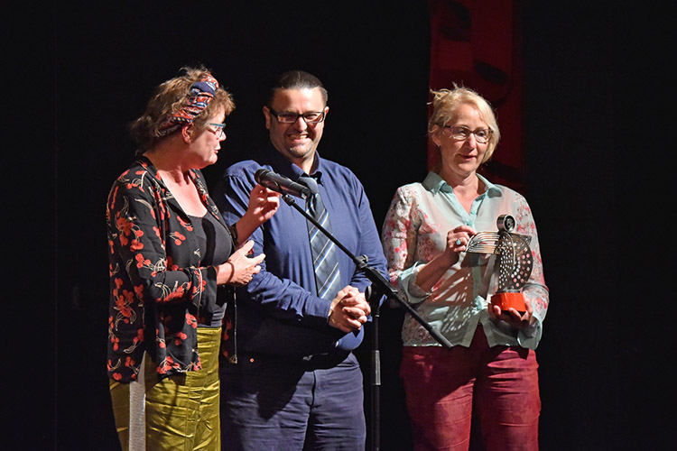 First ever Amateo Award winners, EdvanHoornFucktheSystem from the Netherlands.