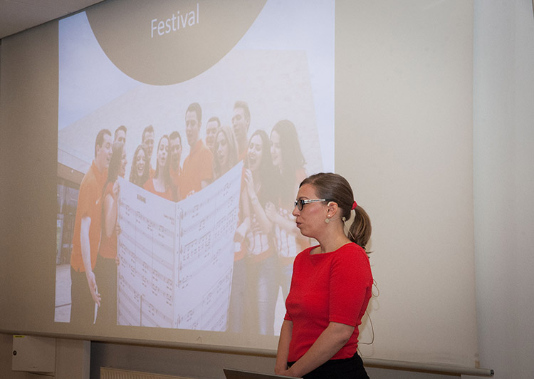Réka Bálog, Europa Cantat, keynote presentation at Amateo Annual Conference, Ljubljana, May 2018