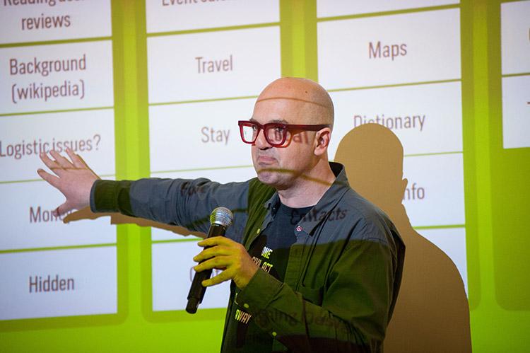 Vuk Cosic, presentation at Amateo Annual Conference, Ljubljana, May 2018