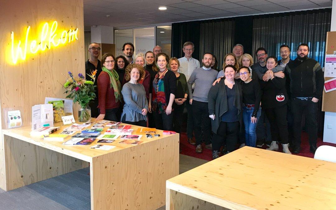 Group photo of the ATP team in Utrecht, November 2019