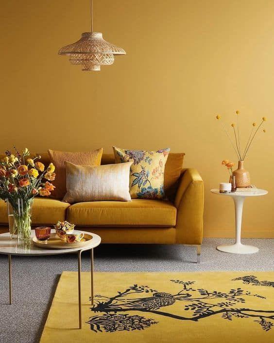 giallo per le pareti di casa