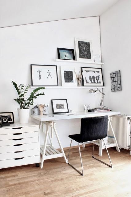 Dettagli di stile per questo home office