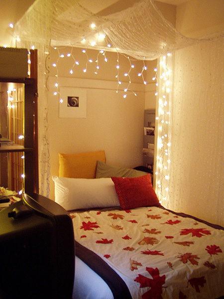 Fili luminosi per la camera da letto