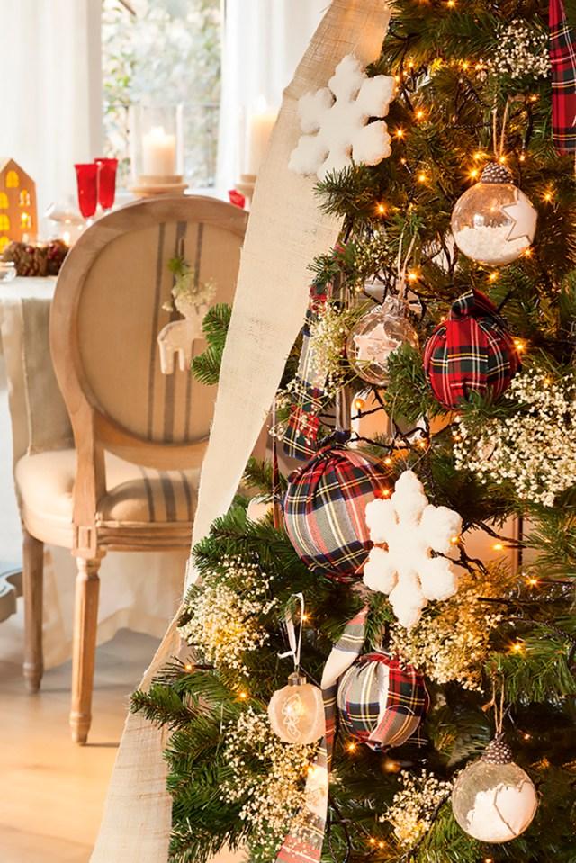 Natale tradizionale rosso e verde