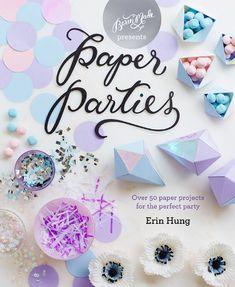 libri decorazione feste - paper parties