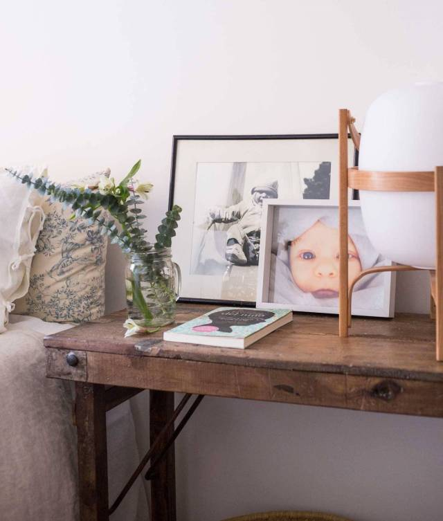 Fotografie appese per decorare casa