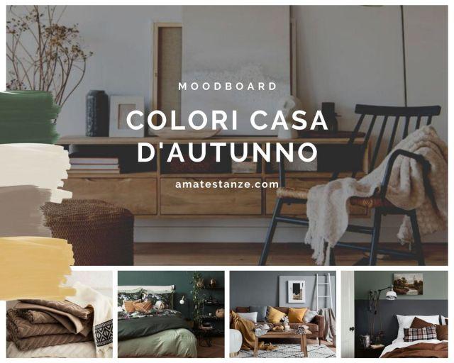 moodboard colori casa autunno