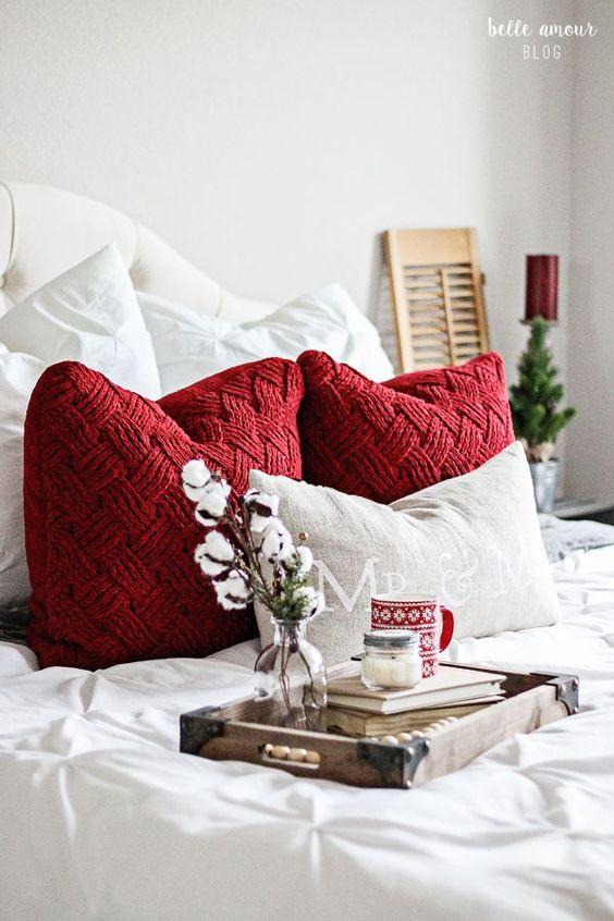 Atmosfera cozy chi per la camera da letto