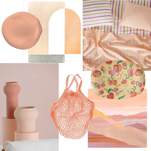Collage Peach Perfect