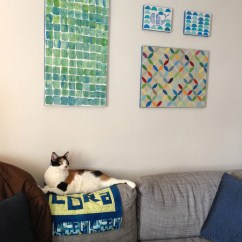 Diy Canvas Art For Living Room Open Window Between Kitchen And Project Pinterest Wrap Up The Amateur Librarian