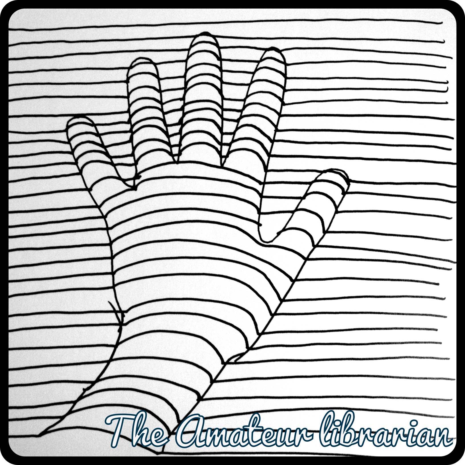 Project Pinterest Diy Coloring Pages Optical Illusion Edition The Amateur Librarian