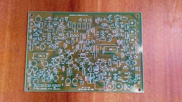 Bitx3C 20mt SBL-1 Exciter PCB