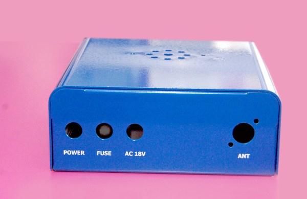 Universal case blue, bitx case