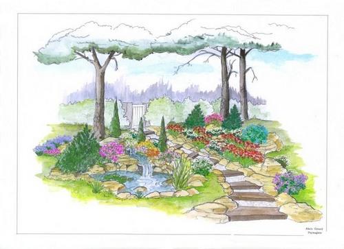 dessins de bassins