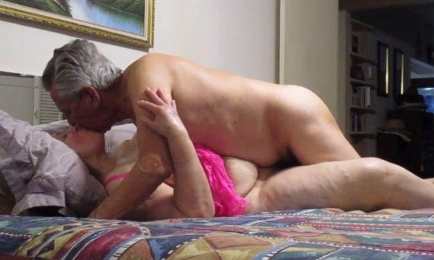Oma en opa hebben nog steeds geile sex