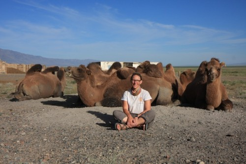 Sherry Ott in Mongolia