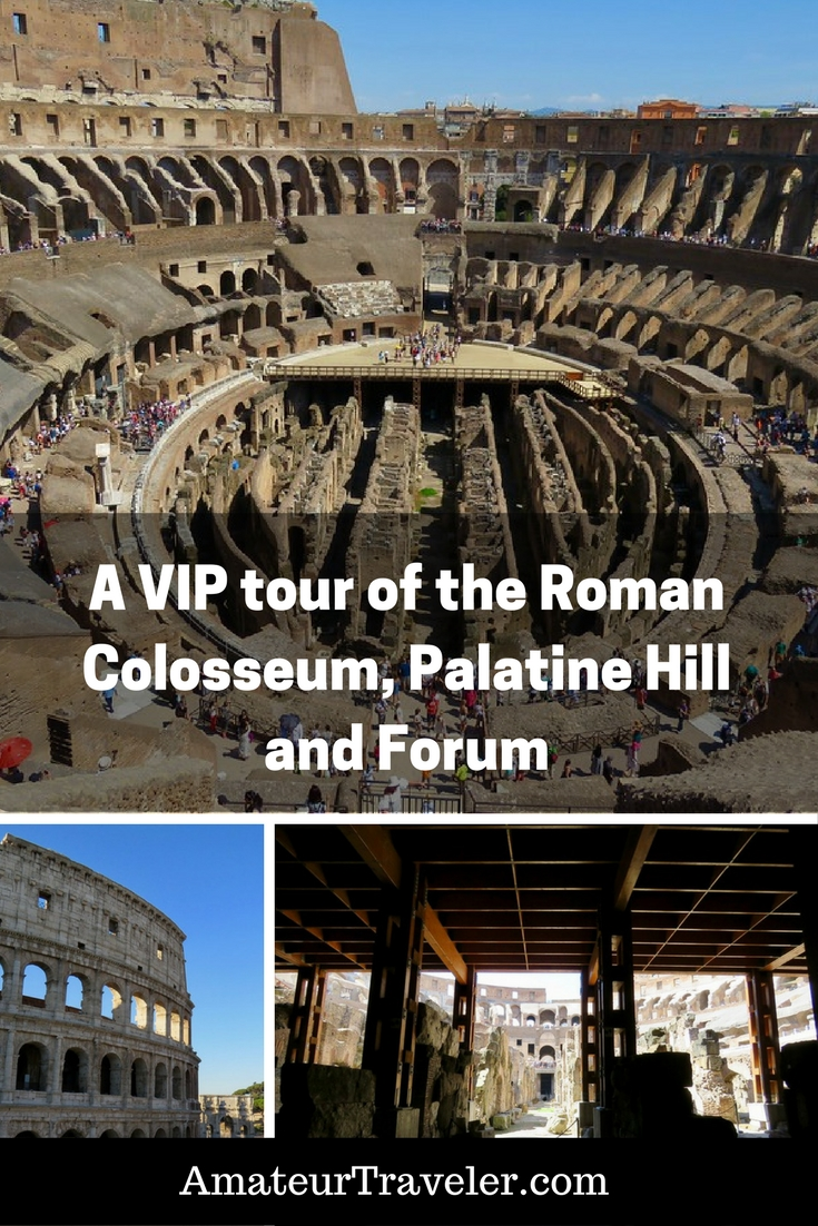 A VIP tour of the Roman Colosseum, Palatine Hill and Forum with LivItaly - Rome, Italy