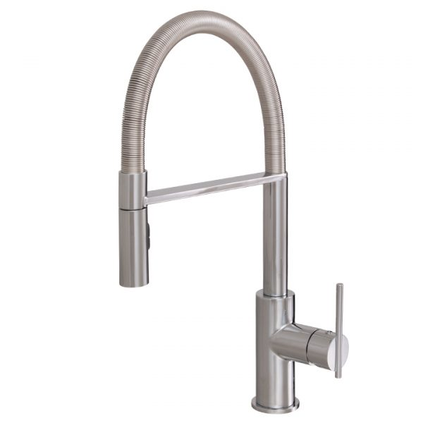 pull out kitchen faucets home depot design aquabrass zest 3845n pc down faucet dual stream with