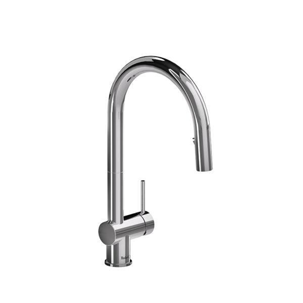 riobel az201c azure kitchen faucet with spray