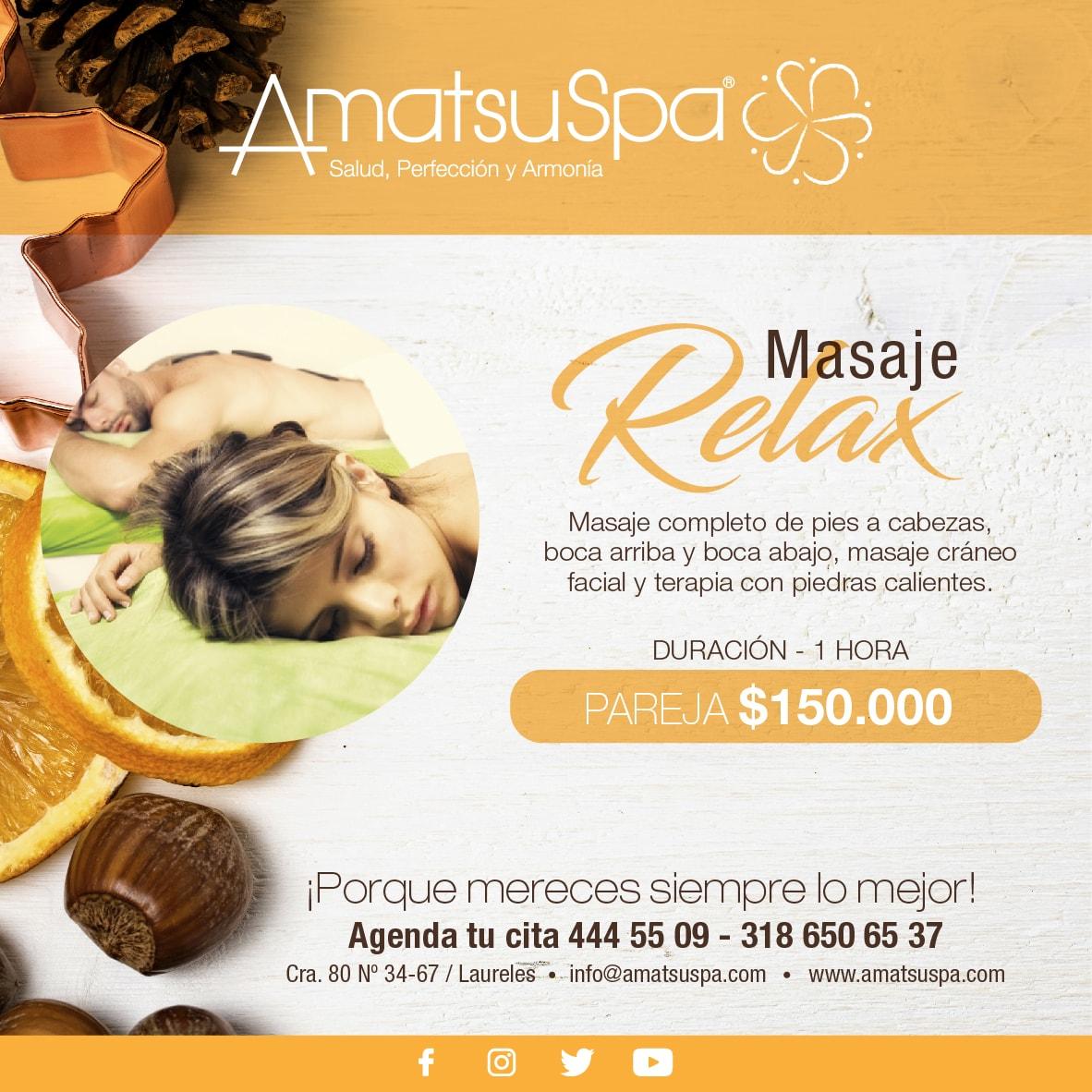 Spa Medellín - Masajes Medellín - Tratamientos faciales Medellín