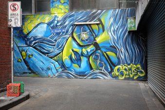 Melbourne CBD Street Art Walk