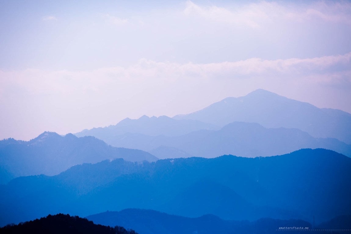 "Japanese Alps seen from mt Takao by ""a matter of taste"""