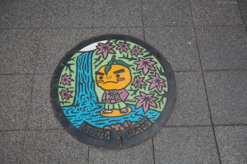 manhole covers japan