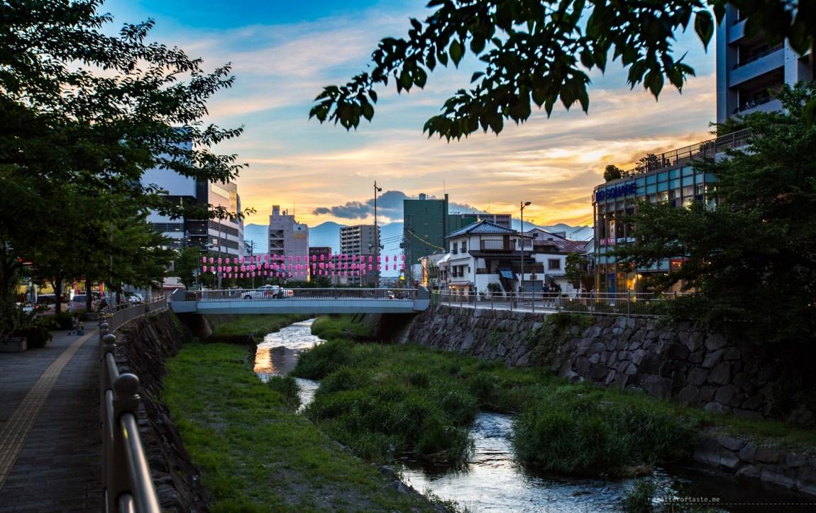 Matsumoto sunset 2015