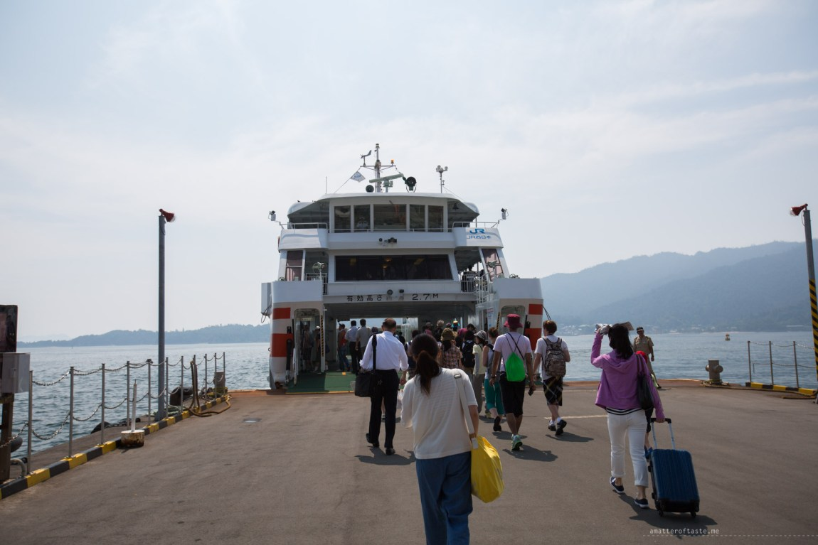 Miyajima JR ferry