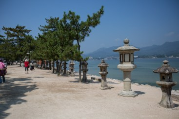 Miyajima Hiroshima hiking mt misen summer
