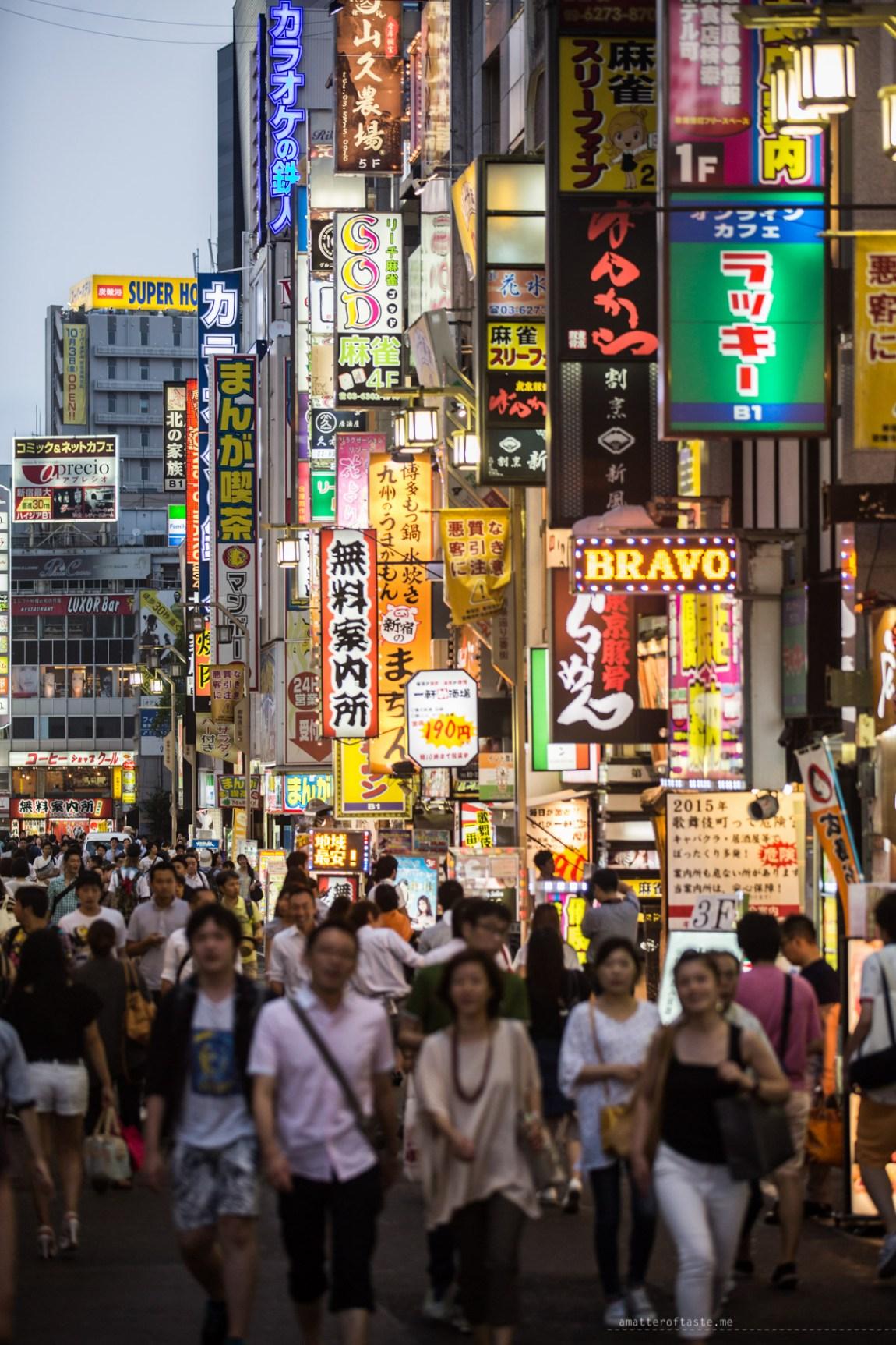 Tokyo street people shinjuku