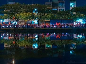 AFF Suzuki Cup 2018 vietnam saigon celebrations