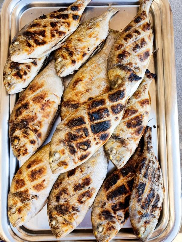 Anniversary brunch InterContinental Marseille fish