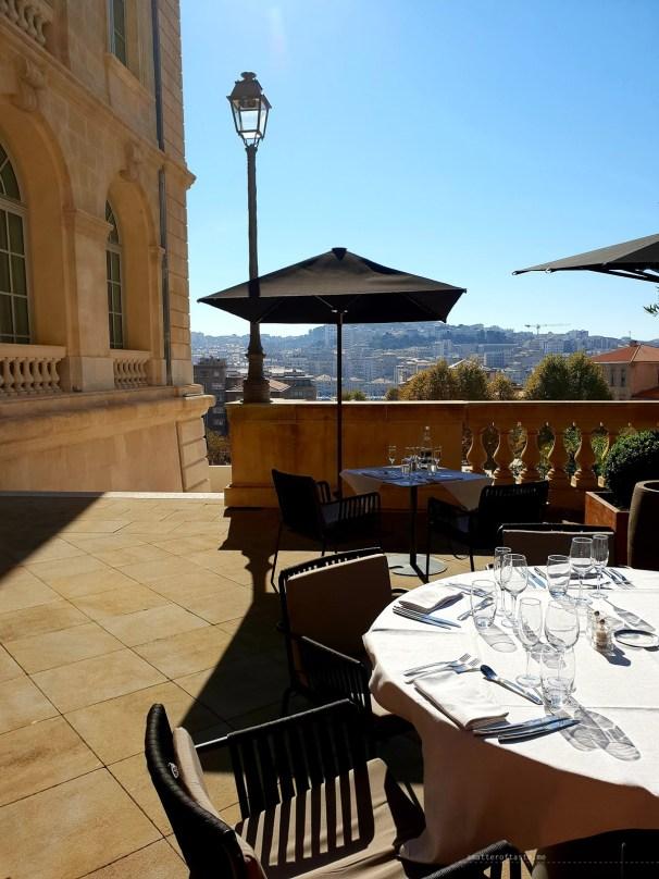 Anniversary brunch InterContinental Marseille view