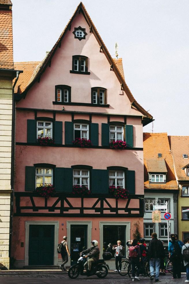 Bamberg Germany road trip house