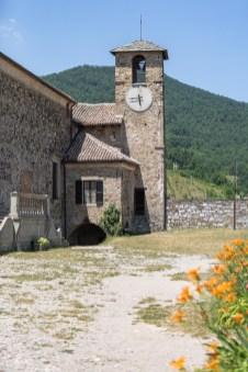 Bardi Castle clock tower