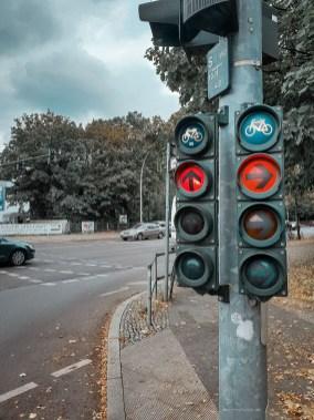 Berlin bikes lights