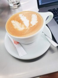Bosgaurus Coffee Roasters flat white