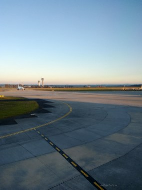 Cathay Pacific CX134 Melbourne runway