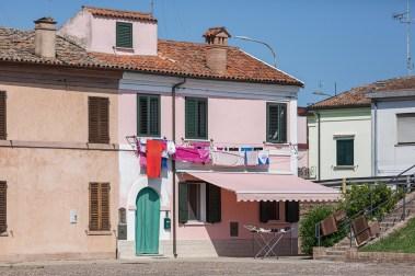 Comacchio pink building